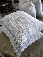 Grey and White cushions