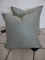 4 Silvery blue New cushions